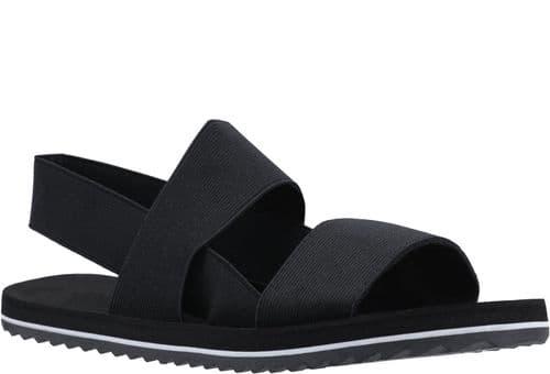 Rocket Dog Ellen Elastic Sandal Ladies Summer Black
